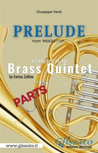 Prelude (Rigoletto) - Brass Quintet - parts - Librerie.coop