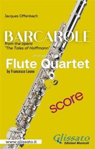 Barcarole - Soprano Flute Quartet (score) - Librerie.coop