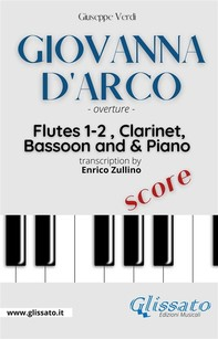 """""""Giovanna D'Arco"""" overture - Woodwinds & Piano (score) - Librerie.coop"""
