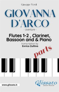 """""""Giovanna D'Arco"""" overture - Woodwinds & Piano (parts) - Librerie.coop"""