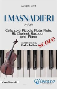 I Masnadieri (Prelude) - Cello, Woodwinds & Piano (score) - Librerie.coop