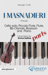 I Masnadieri (Prelude) - Cello, Woodwinds & Piano (parts) - Librerie.coop