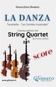 La Danza (tarantella) - String Quartet score - Librerie.coop