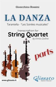 La Danza (tarantella) - String Quartet (parts) - Librerie.coop