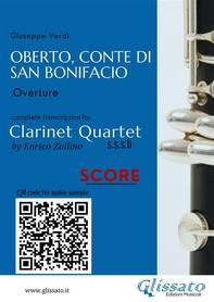 Oberto,Conte di San Bonifacio - Clarinet Quartet - Score - Librerie.coop
