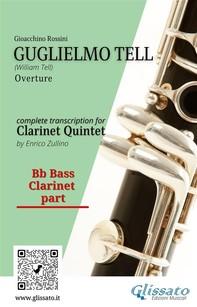Guglielmo Tell (overture) Clarinet Quintet - parts - Librerie.coop