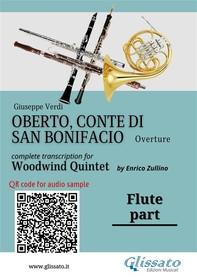 Oberto,Conte di San Bonifacio - Woodwind Quintet - Parts - Librerie.coop