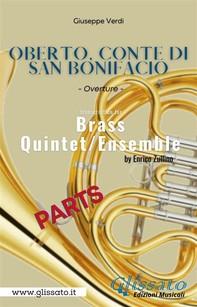 Oberto, Conte di San Bonifacio - Brass Quintet/Ensemble (parts) - Librerie.coop