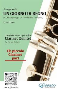 Un giorno di regno - Clarinet Quintet/Ensemble (parts) - Librerie.coop