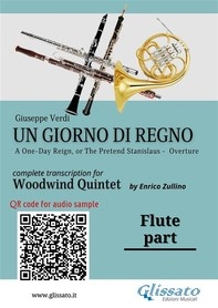 Un giorno di regno - Woodwind Quintet (parts) - Librerie.coop