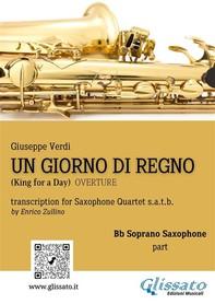 Un giorno di regno - Saxophone Quartet (Parts) - Librerie.coop