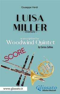 Luisa Miller - Woodwind Quintet (Score) - Librerie.coop