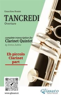 Tancredi - Clarinet Quintet (Parts) - Librerie.coop