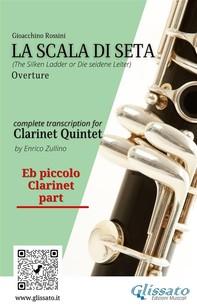 La Scala di Seta - Clarinet Quintet (parts) - Librerie.coop