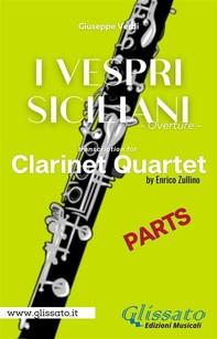 I Vespri Siciliani - Clarinet Quartet (parts) - Librerie.coop