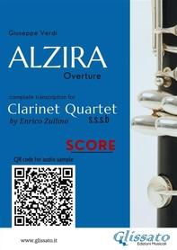 Alzira - Clarinet Quartet (score) - Librerie.coop