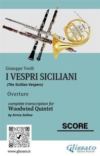 I Vespri Siciliani - Woodwind Quintet (score) - Librerie.coop