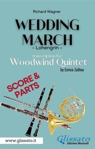 Wedding March (Wagner) - Woodwind Quintet (score & parts) - Librerie.coop