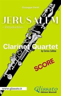 Jerusalem - Clarinet Quartet (score) - Librerie.coop