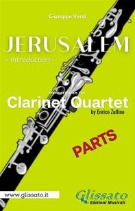 Jerusalem - Clarinet Quartet (parts) - Librerie.coop