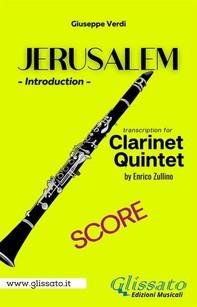 Jerusalem - Clarinet Quintet (score) - Librerie.coop