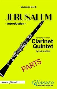 Jerusalem - Clarinet Quintet/Ensemble (parts) - Librerie.coop