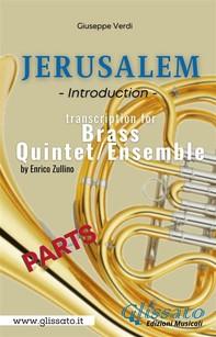 Jerusalem - Brass Quintet/Ensemble (parts) - Librerie.coop