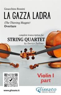 La Gazza Ladra - String Quartet (score & parts) - Librerie.coop
