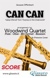 Can Can - Woodwind Quartet (score) - Librerie.coop