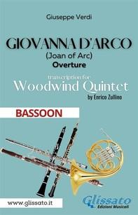 Giovanna d'Arco - Woodwind Quintet (BASSOON) - Librerie.coop