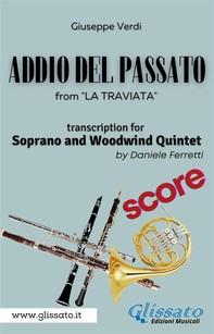(Score) Addio del passato - Soprano & Woodwind Quintet - Librerie.coop