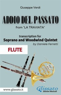 (Flute) Addio del passato - Soprano & Woodwind Quintet - Librerie.coop