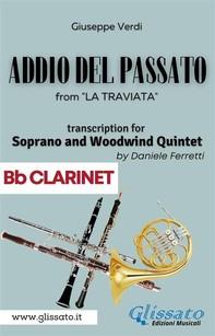 (Bb Clarinet) Addio del passato - Soprano & Woodwind Quintet - Librerie.coop