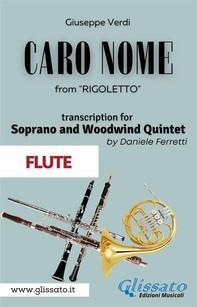 (Flute) Caro Nome - Soprano & Woodwind Quintet - Librerie.coop