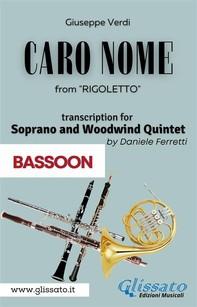 (Bassoon) Caro Nome - Soprano & Woodwind Quintet - Librerie.coop