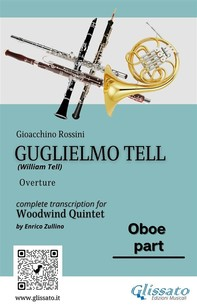 """Oboe part of """"Guglielmo Tell"""" for Woodwind Quintet - Librerie.coop"""