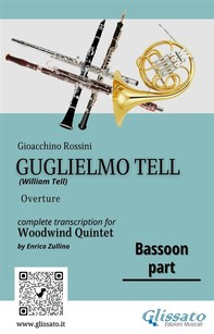 """Bassoon part of """"Guglielmo Tell"""" for Woodwind Quintet - Librerie.coop"""