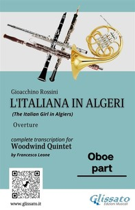 "Oboe part of ""L'Italiana in Algeri"" for Woodwind Quintet - Librerie.coop"