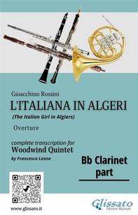 "Bb Clarinet part of ""L'Italiana in Algeri"" for Woodwind Quintet - Librerie.coop"