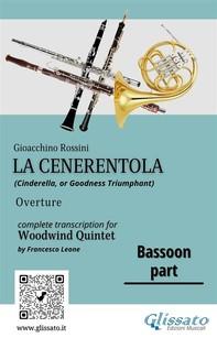 "Bassoon part of ""La Cenerentola"" for Woodwind Quintet - Librerie.coop"