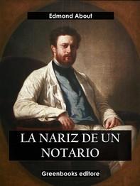 La nariz del notario - Librerie.coop
