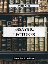 Essays & Lectures - Librerie.coop